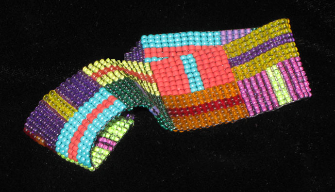 Woven Bead Bracelet Favecrafts Christmas Crafts Free